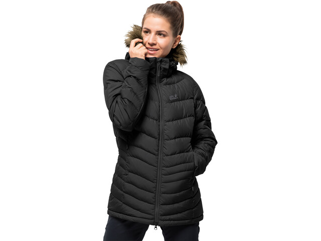 wholesale dealer 17f6a d63bd Jack Wolfskin Selenium Bay Giacca piumino Donna, black